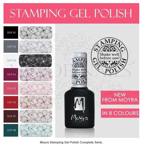 Moyra Stamping Gel Polish Complete Serie