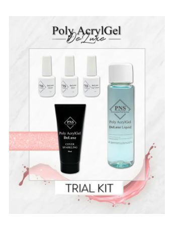 PNS Poly AcrylGel DeLuxe Trial Kit Tube 1