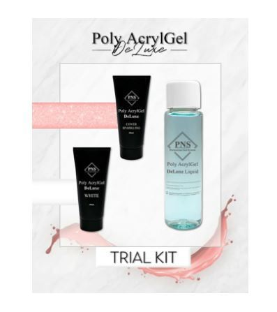 PNS Poly AcrylGel DeLuxe Trial Kit Tube 2